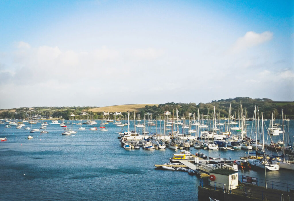 Falmouth harbour - Falmouth staycation guide