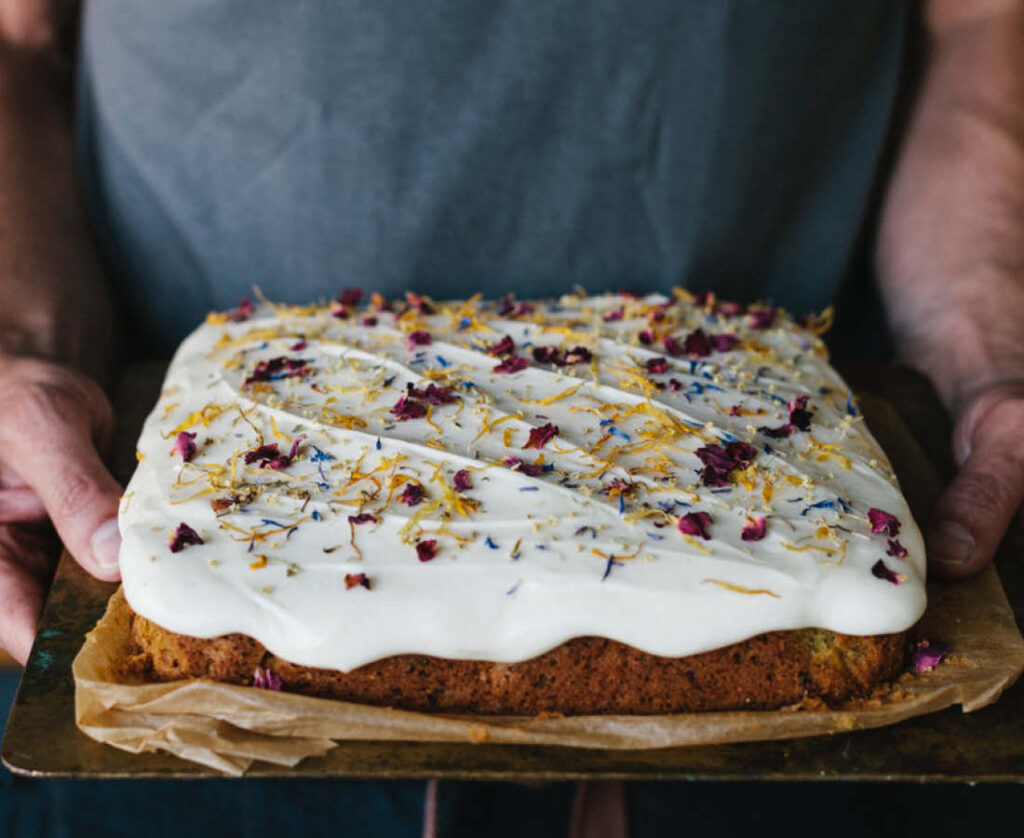 English Garden Cake - Weekend bakes