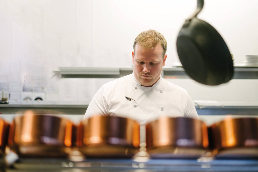 Scott Paton, head chef at Boringdon Hall