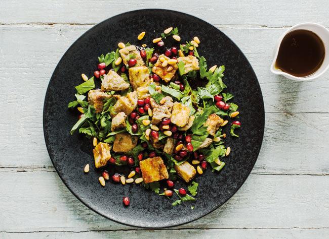 Aubergine salad