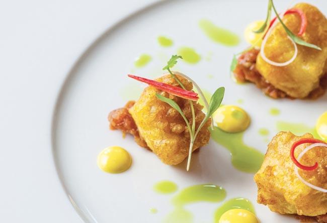 Crispy Cornish Monkfish