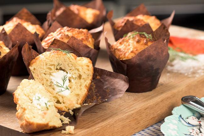 Salmon-muffins