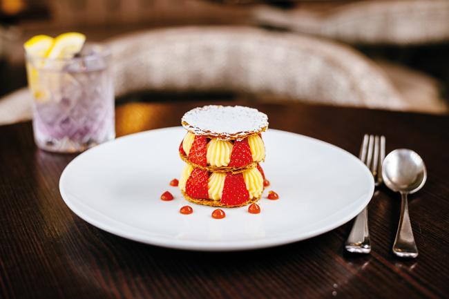 Dessert at The Alverton Hotel in Truro