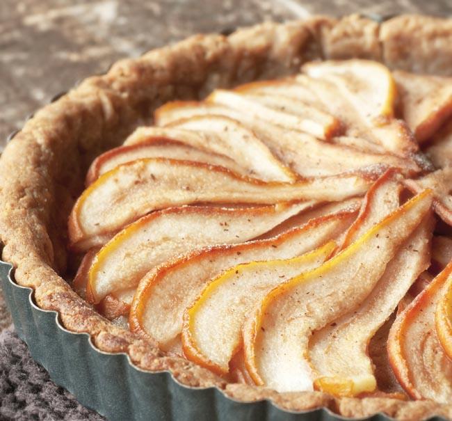 Caramel pear tart recipe