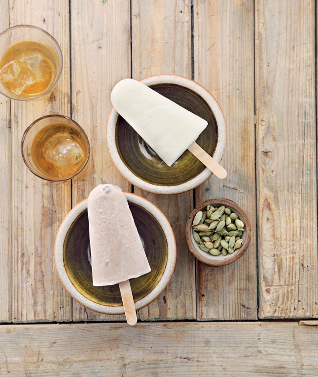 Cardamom poptails recipe