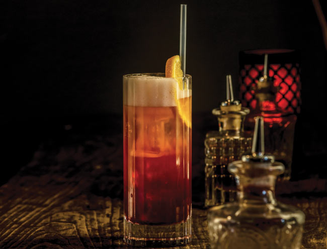 Circus cocktail