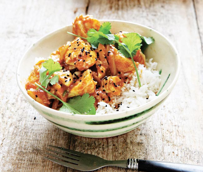 Hugh Fearnley-Whittingstall fish and tomato curry recipe image