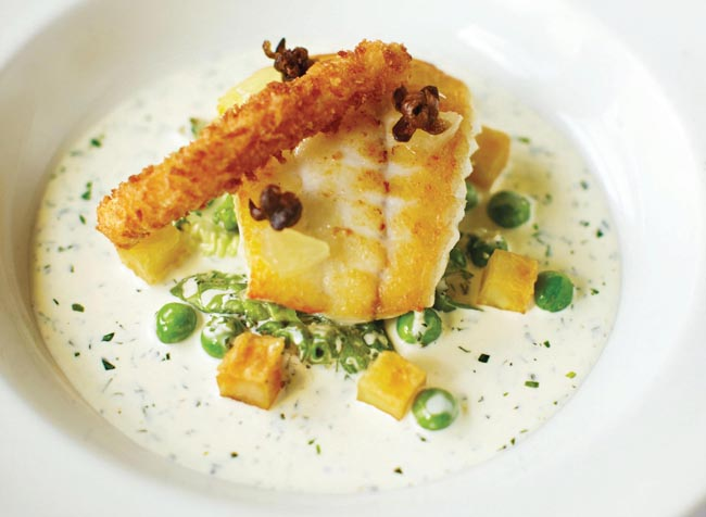 Nathan Outlaw's fish and chips recipe