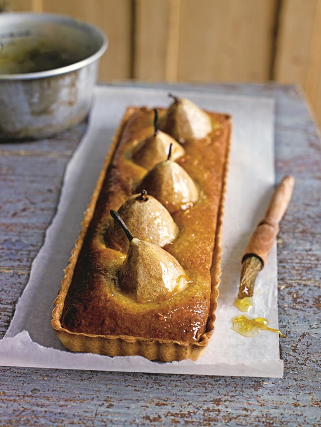Pear and whisky tart recipe