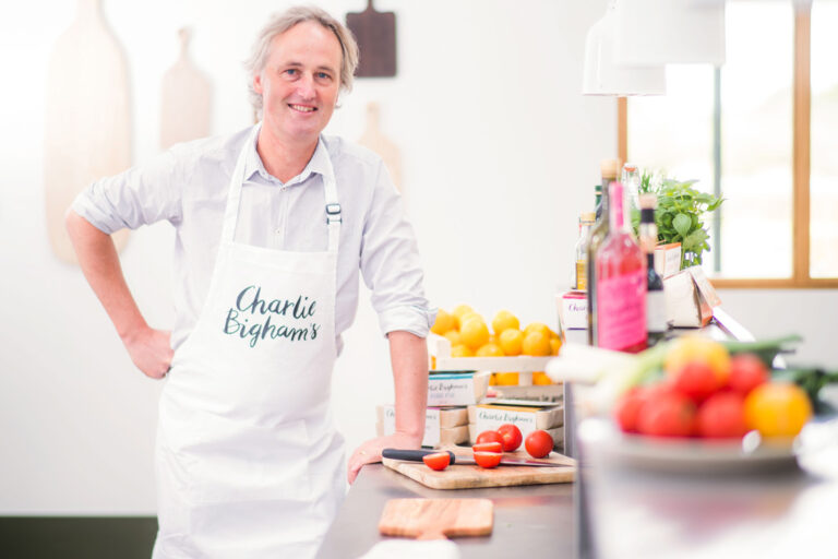 Charlie Bigham in the kitchen