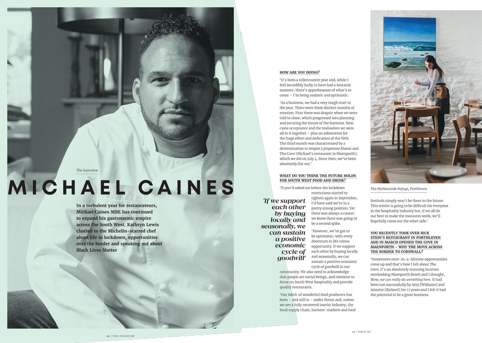 michael caines interview