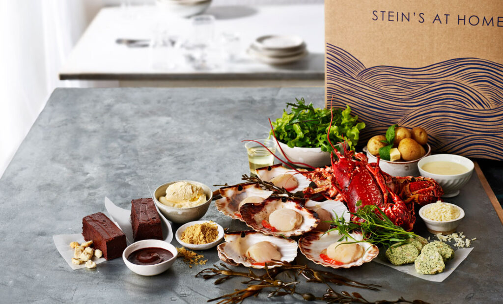 Foodie gifts Steins menu box