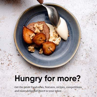 food newsletter banner