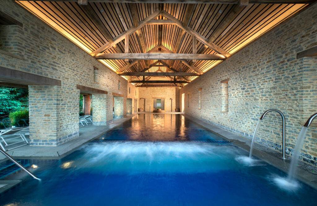 Sustainable staycations - spa at The Newt in Somerset