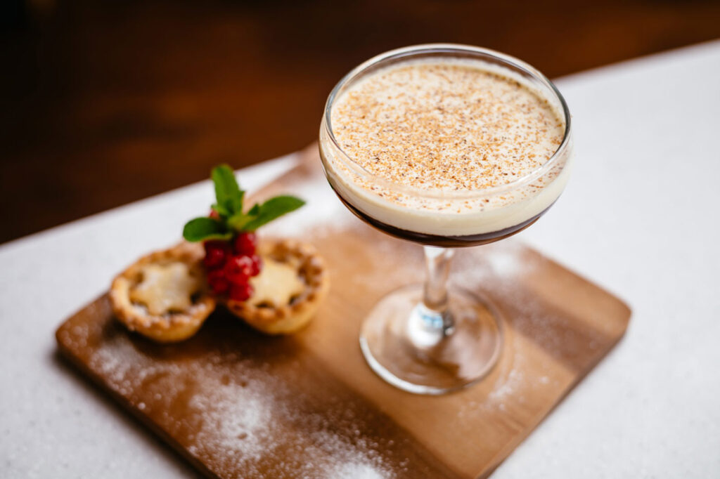 The Mince Pie cocktail