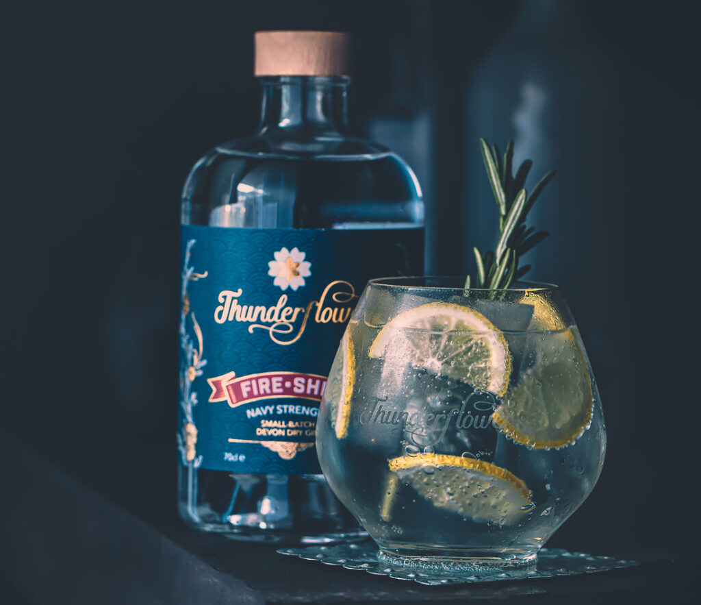 Thunderflower navy strength gin