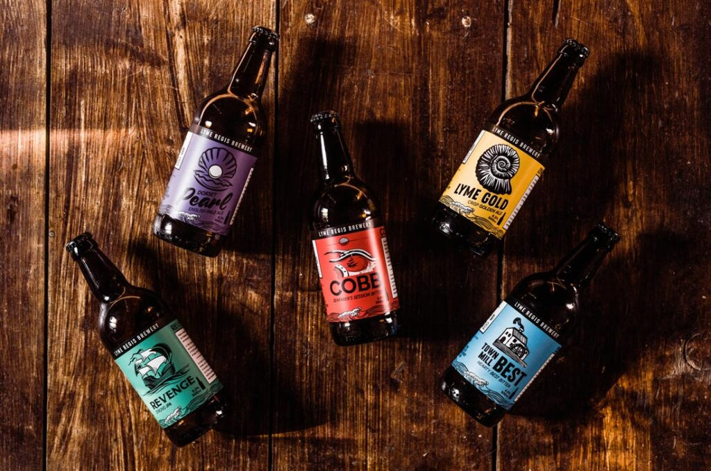 Lyme Regis Brewery bottles of beer - 5 of the best South West beers by post