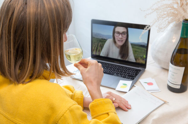Virtual wine tasting - best online foodie experiences