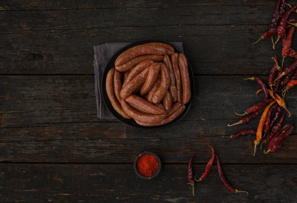 Meadow Farm merguez sausage