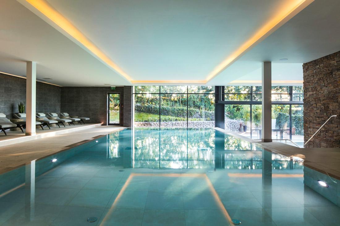 The spa at Boringdon Hall. Gourmet getaways