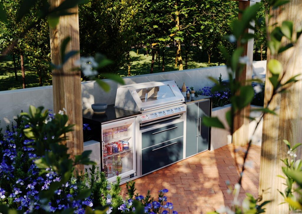 Alfresco kitchen from Heart, Smoke & Soal