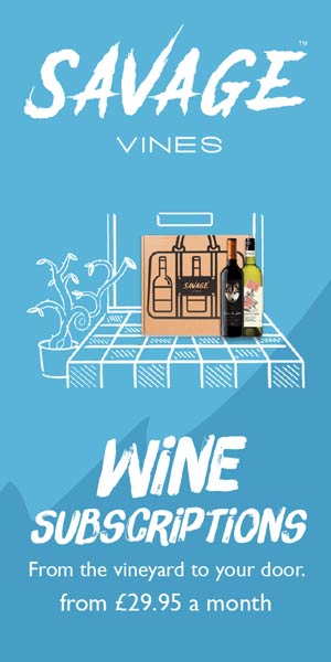 Savage Vines Wine Subscriptions banner