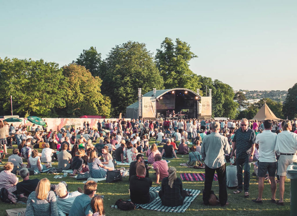 South West summer food and drink festivals, Pub in the Park