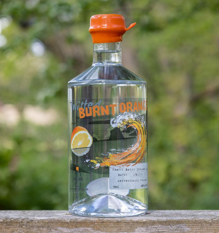 Burnt Orange South West gins