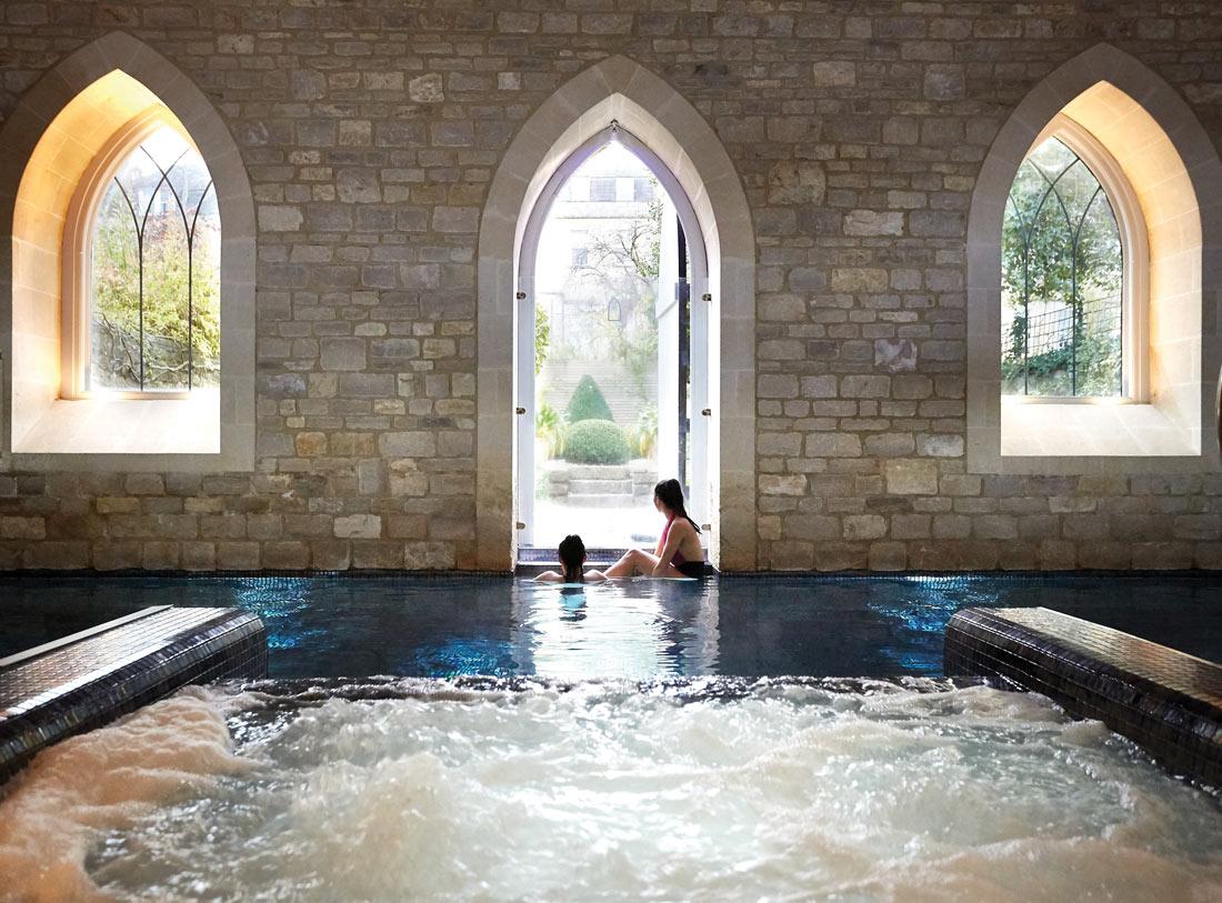 Bath staycation - TRC spa