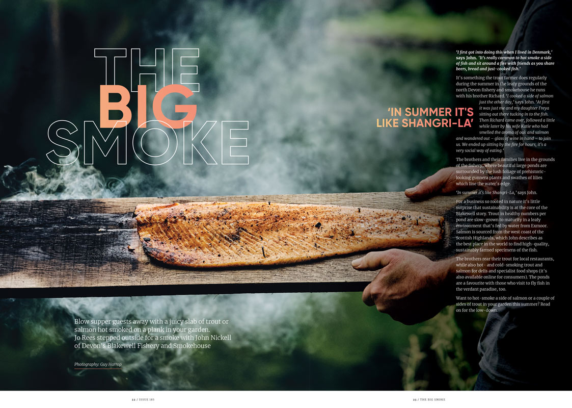 FOOD July & August 2021 The Big Smoke feature