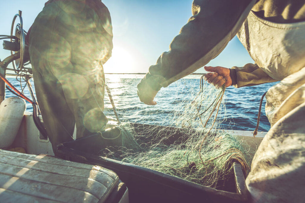 sustainable seafood - fishing boat