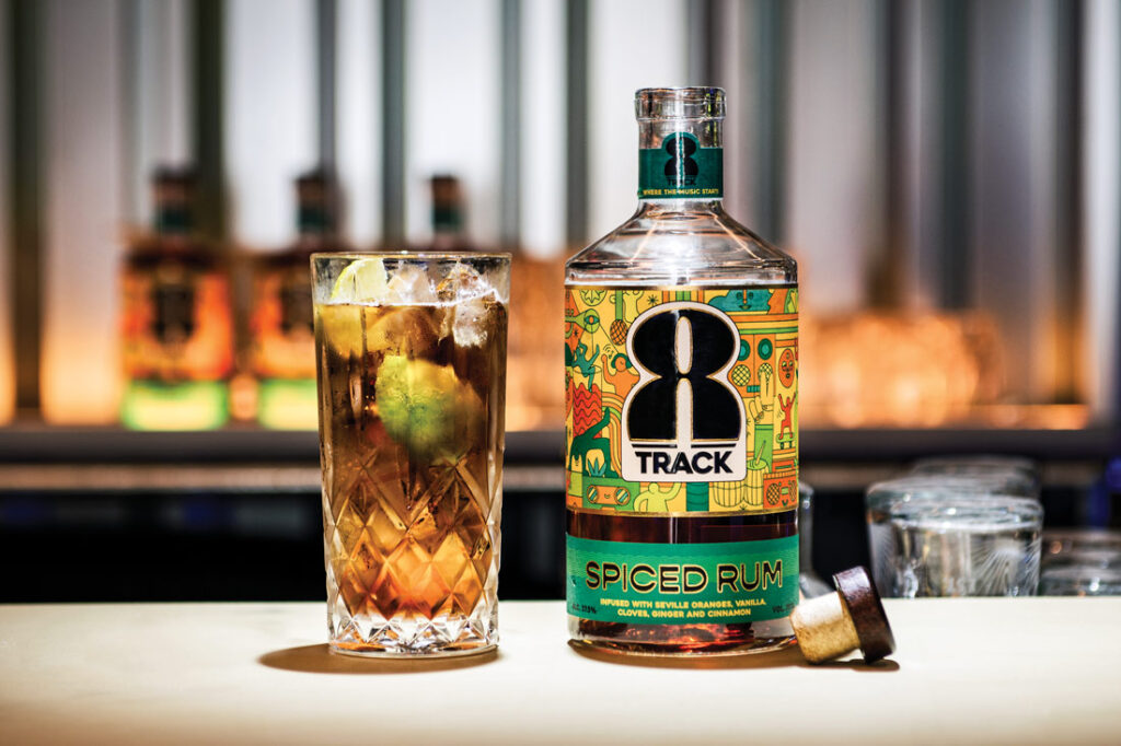 8Track Spiced Rum