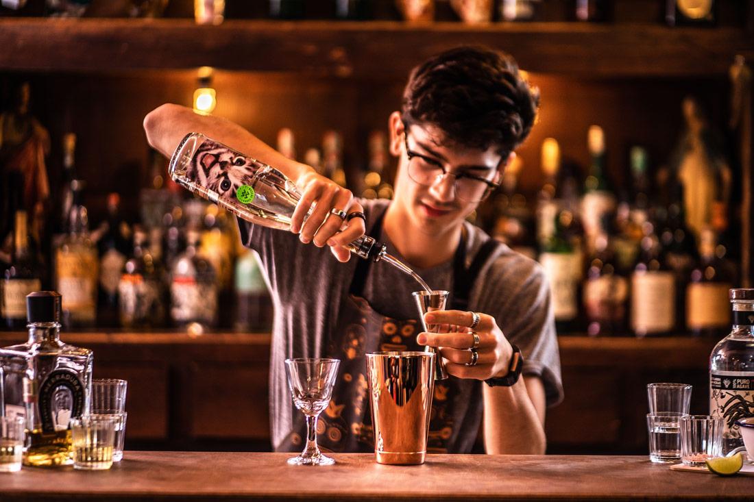 best cocktails bars in Bath - Dos Dedos