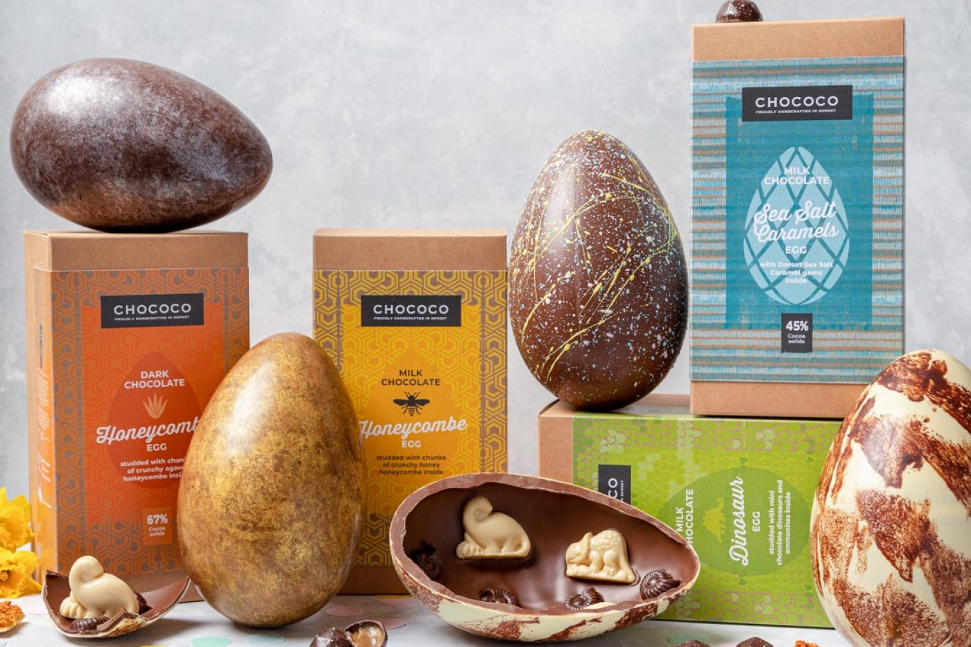Chococo Giant collection - 5 of the best gourmet Easter eggs