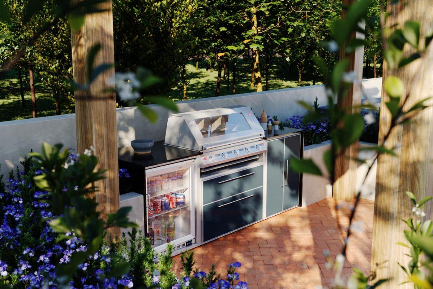 Alfresco kitchen from Heart, Smoke & Soal