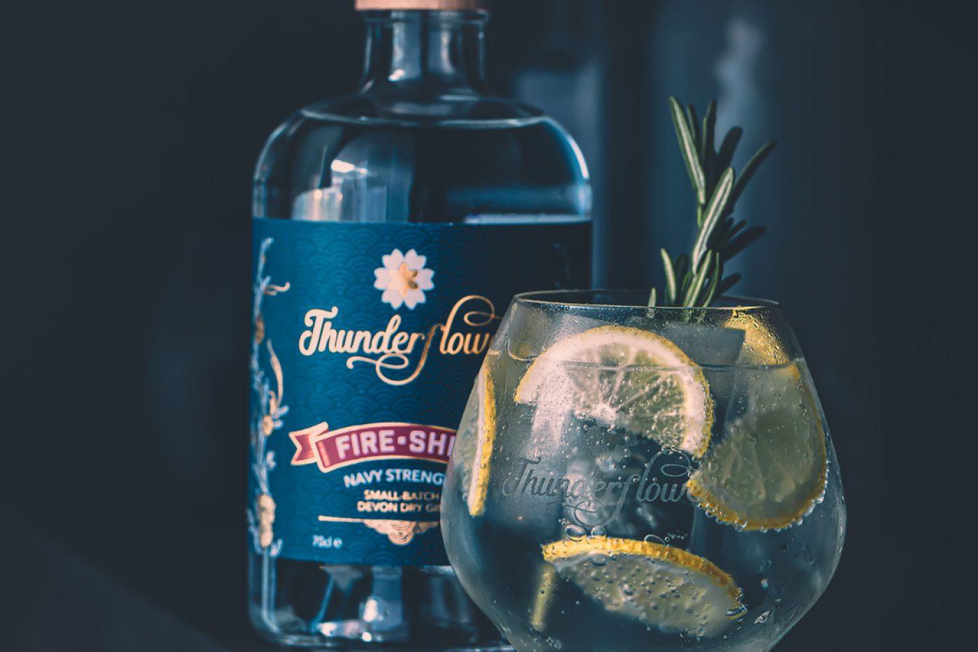 Thunderflower navy strength gin